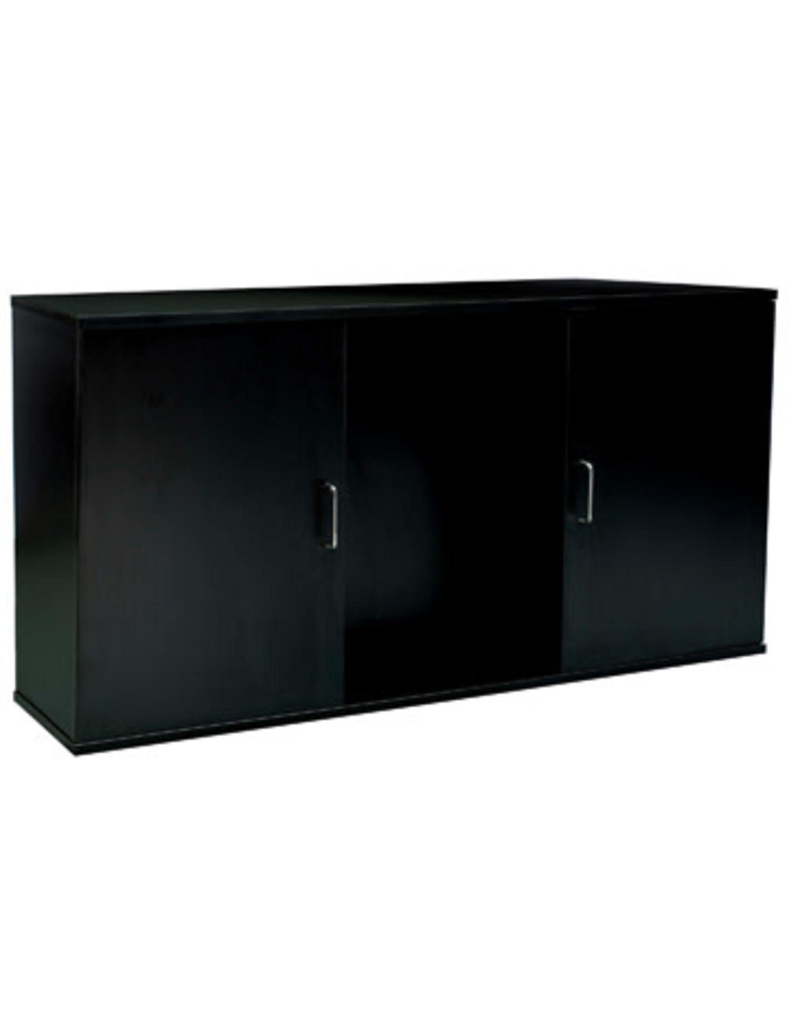 """Fluval Fluval Aquarium Cabinet - 55 Gal - 48.78"""" x 13.25"""" x 26"""" (124 cm x 33.7 cm x 66 cm) - Black"""