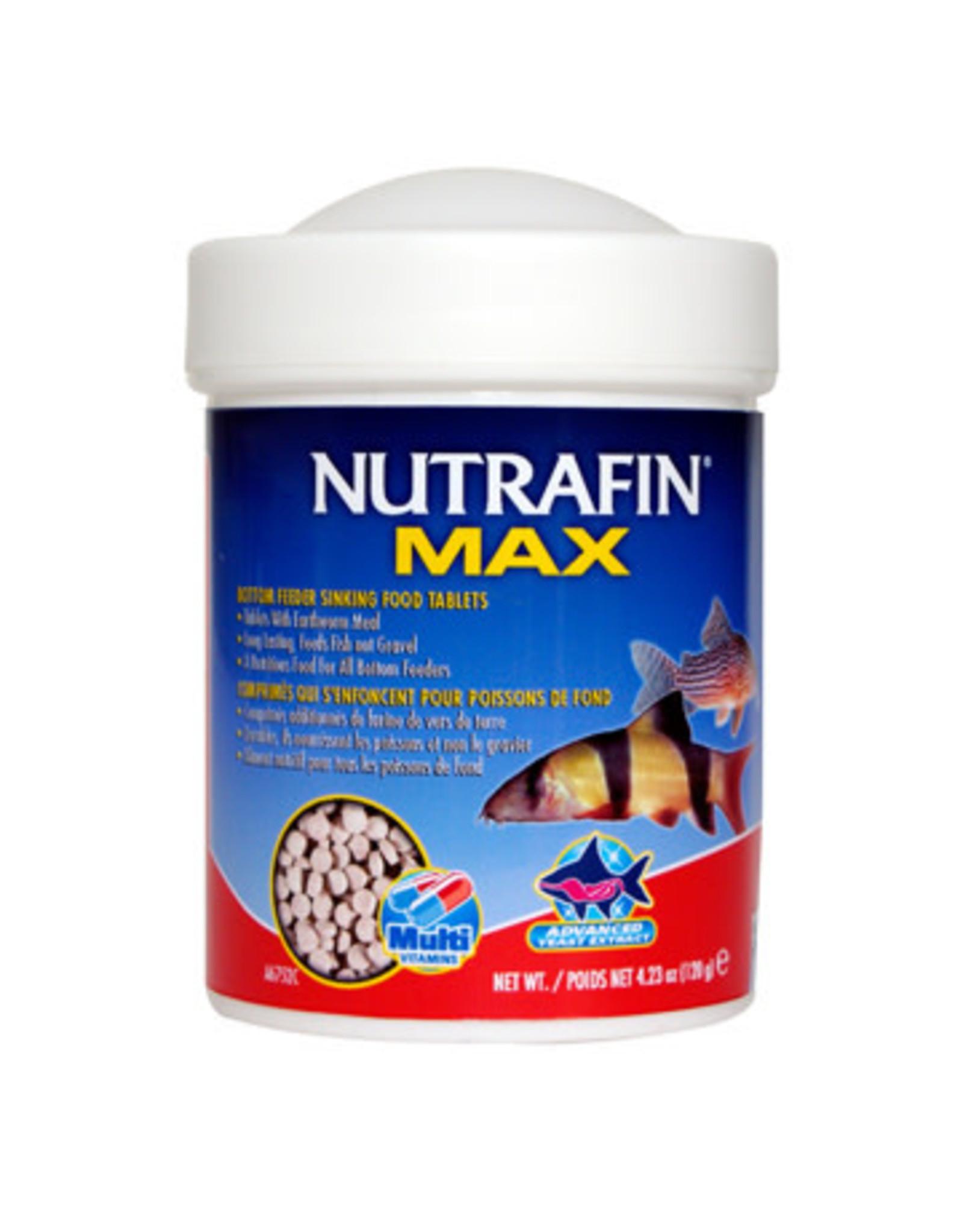 Nutrafin Nutrafin Max Bottom Feeder Sinking Food Tablets, 120 g (4.23 oz)