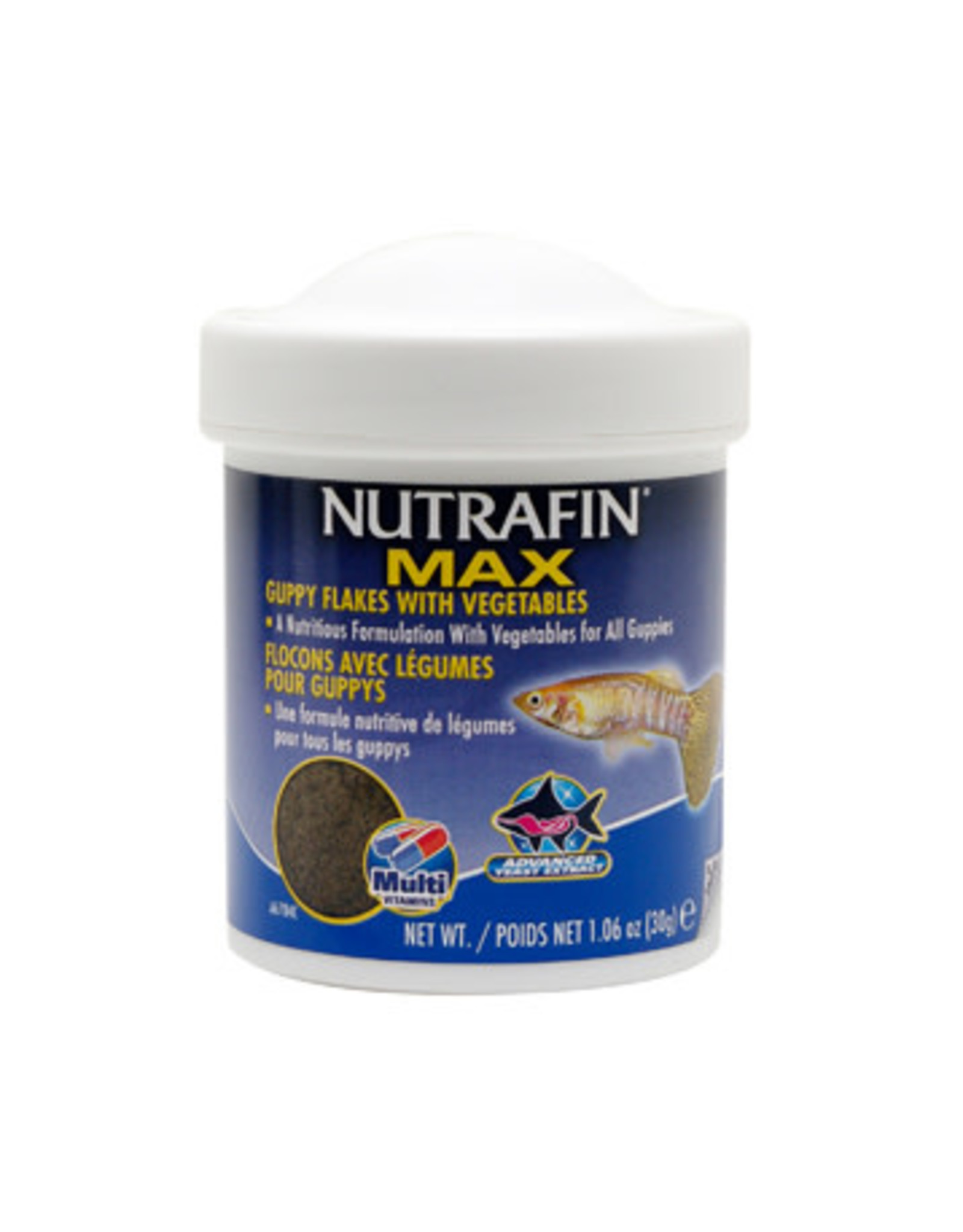 Nutrafin Nutrafin Max Guppy Flakes With Vegetables 30 g (1.06 oz)