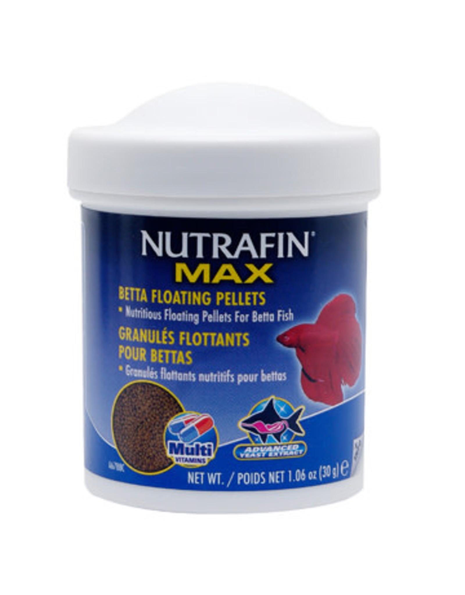 Nutrafin Nutrafin Max Betta Floating Pellets 30 g (1.06 oz)