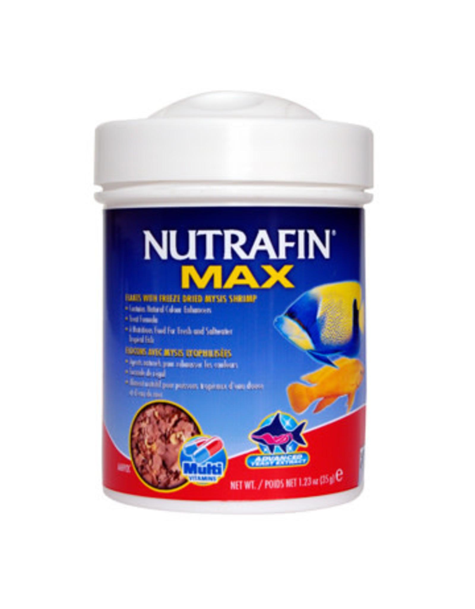 Nutrafin Nutrafin Max Flakes + Freeze Dried Mysis Shrimp 35 g (1.23 oz)