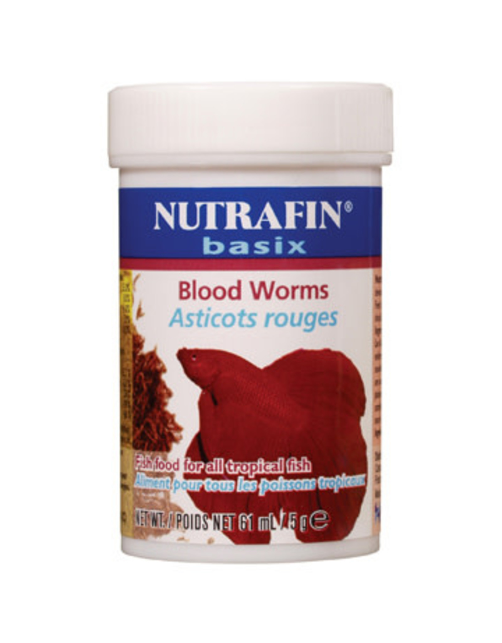 Nutrafin Nutrafin Basix Freeze D. Blood Worm, 5g (0.1oz)