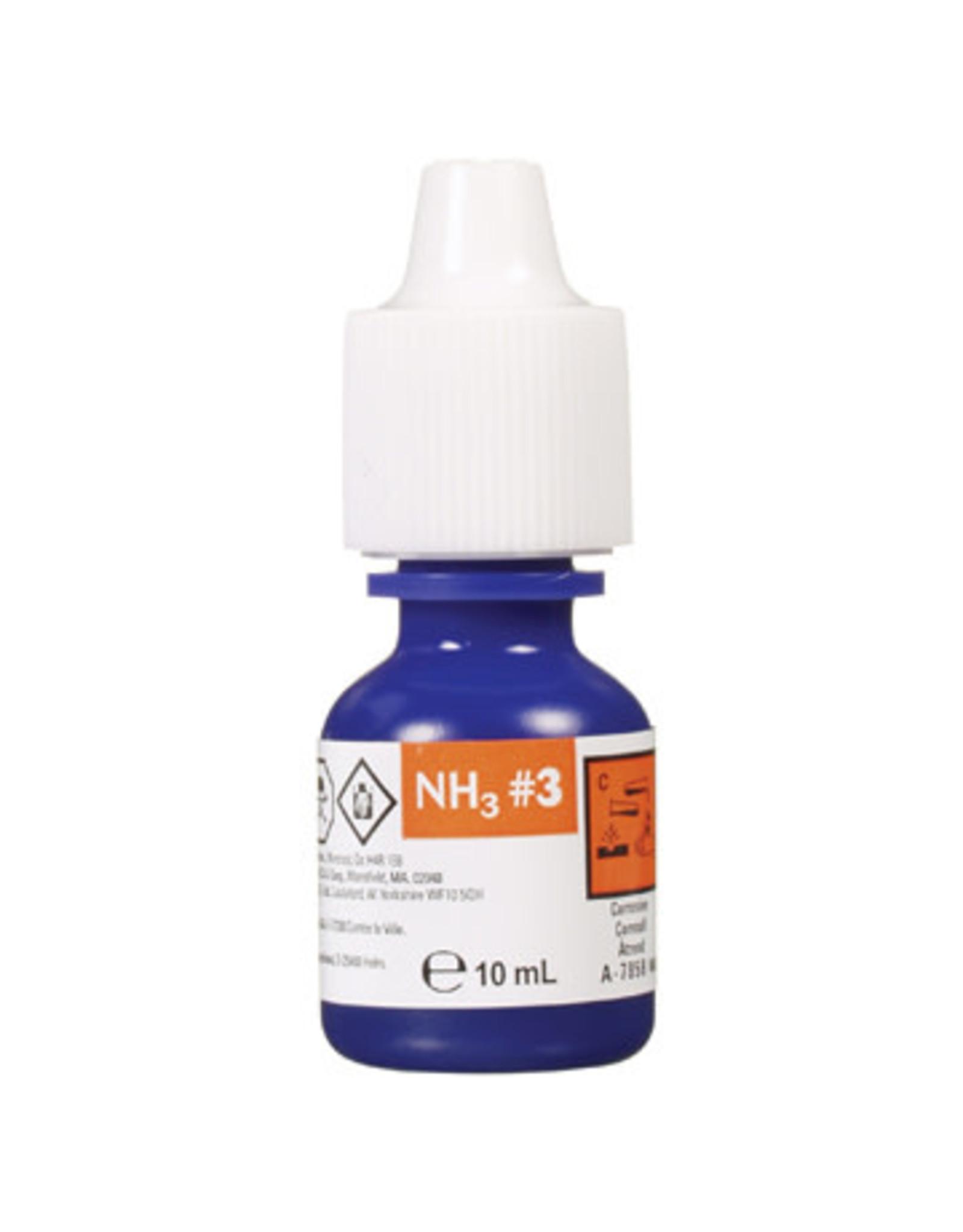 Nutrafin Nutrafin Ammonia fresh and saltwater reagent #3 refill, 10 mL (0.3 fl oz)