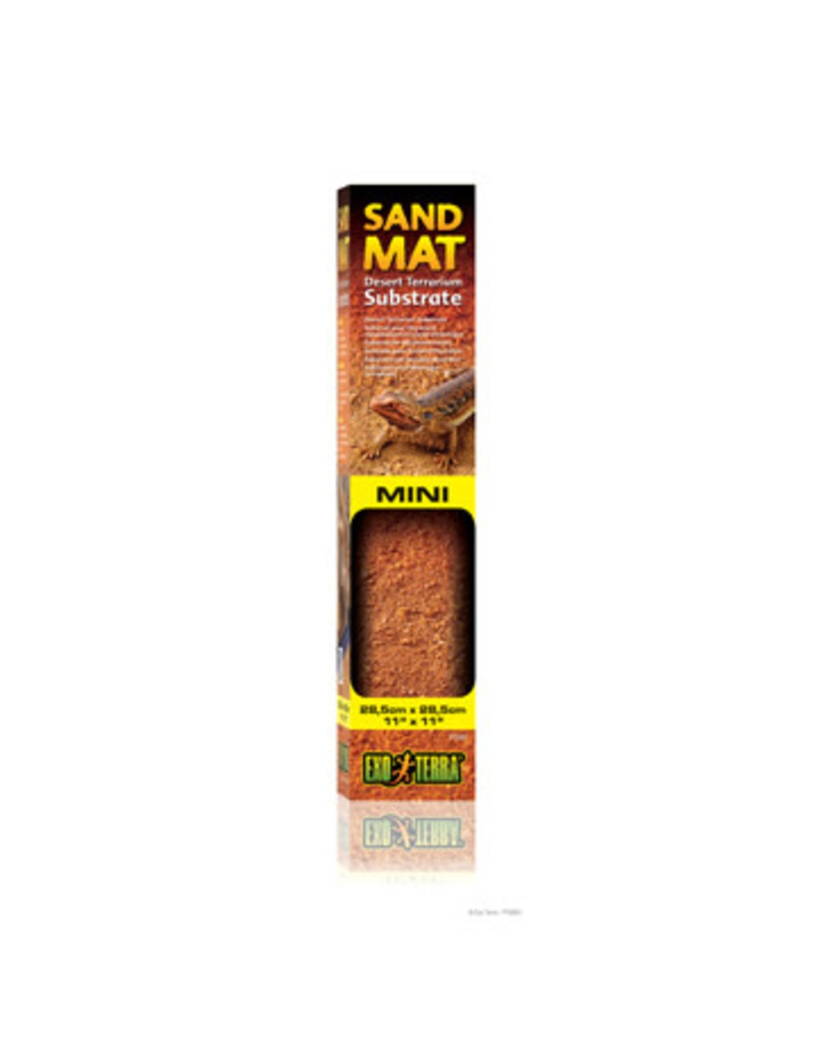 Exo Terra Sand Mat Mini - Desert Terrarium Substrate - 28.5 x 29 cm