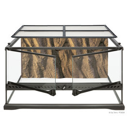 "Exo Terra Natural Terrarium - Advanced Reptile Habitat - Low, 24"" x 18"" x 12"""