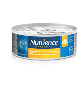 Nutrience Nutrience Original Healthy Adult - Chicken Pate with Brown Rice & Vegetables - 156g