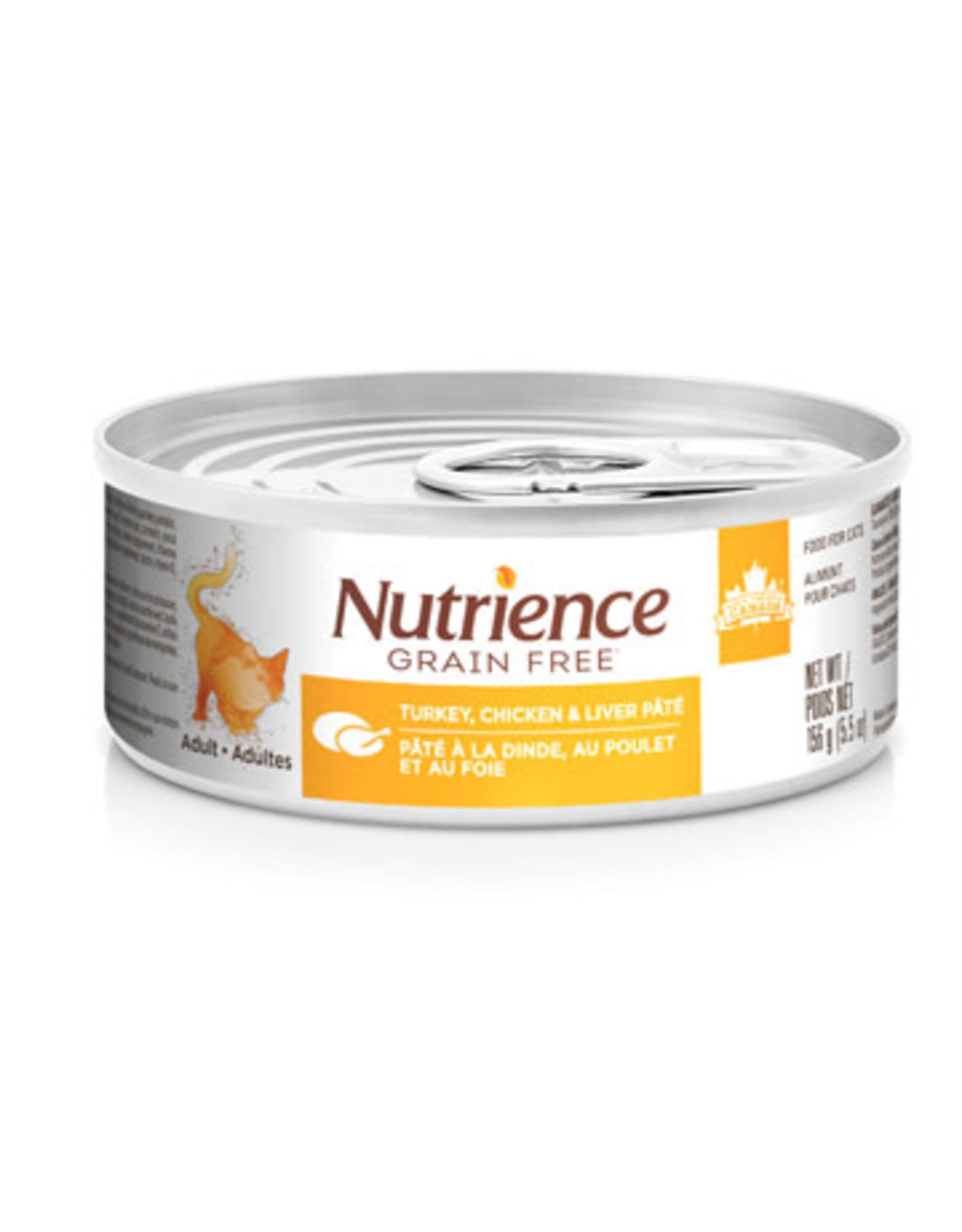 Nutrience Nutrience Grain Free Turkey, Chicken & Liver Pate - 156g