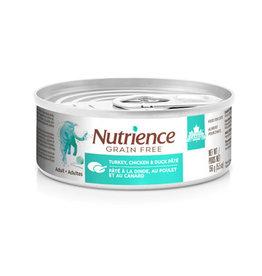 Nutrience Nutrience Grain Free Turkey, Chicken & Duck Pate Indoor 156g