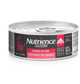 Nutrience Nutrience SubZero Pate Prairie Red - 156g
