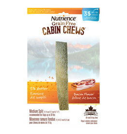 Nutrience Nutrience CabinChew Elk Antler Med Split Bacon