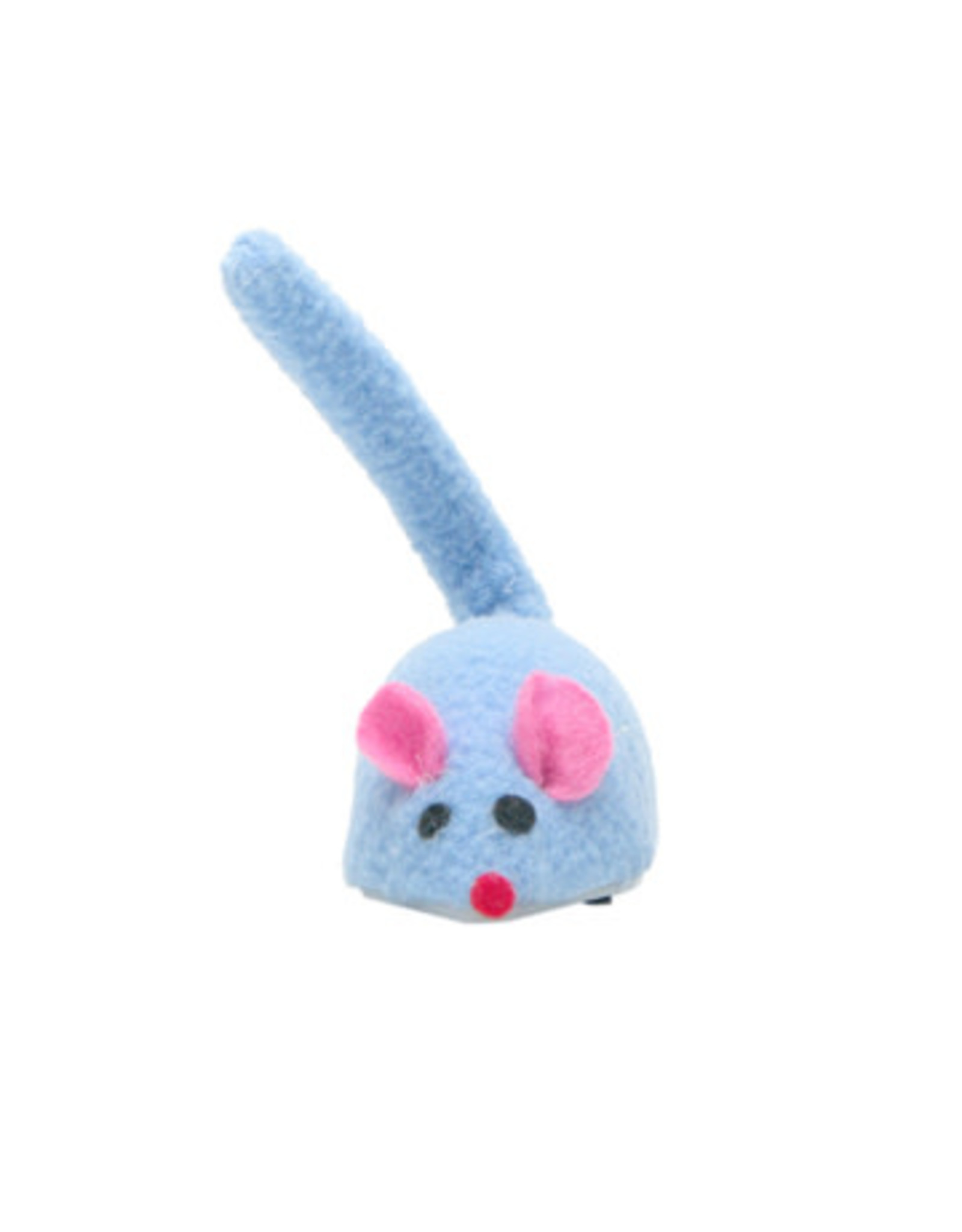 Cat Love Zippy Mouse Blue