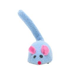 Cat Love Zippy Mouse Blue