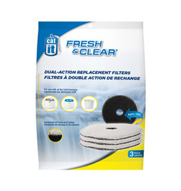 CatIt Fresh & Clear Foam/Carbon Filters 3 Pack