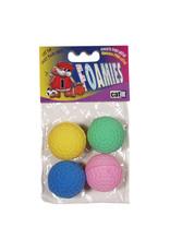 CatIt Foamies Sponge Golf Balls 4 Pack