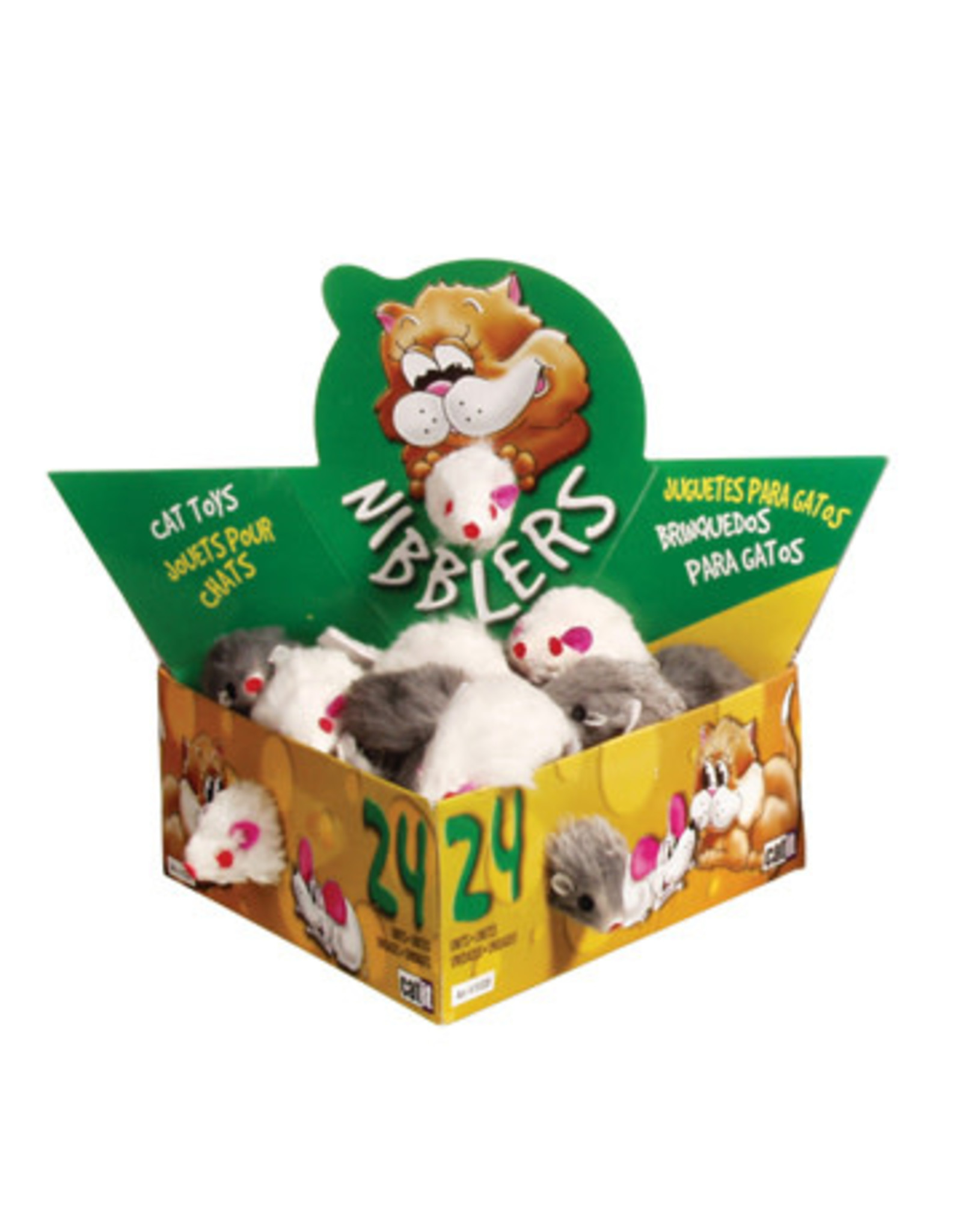 CatIt Nibblers Fur Mice Small