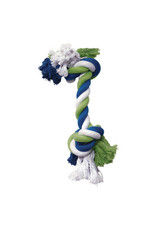 DogIt Knotted Rope Toy Multicoloured Rope Bone S