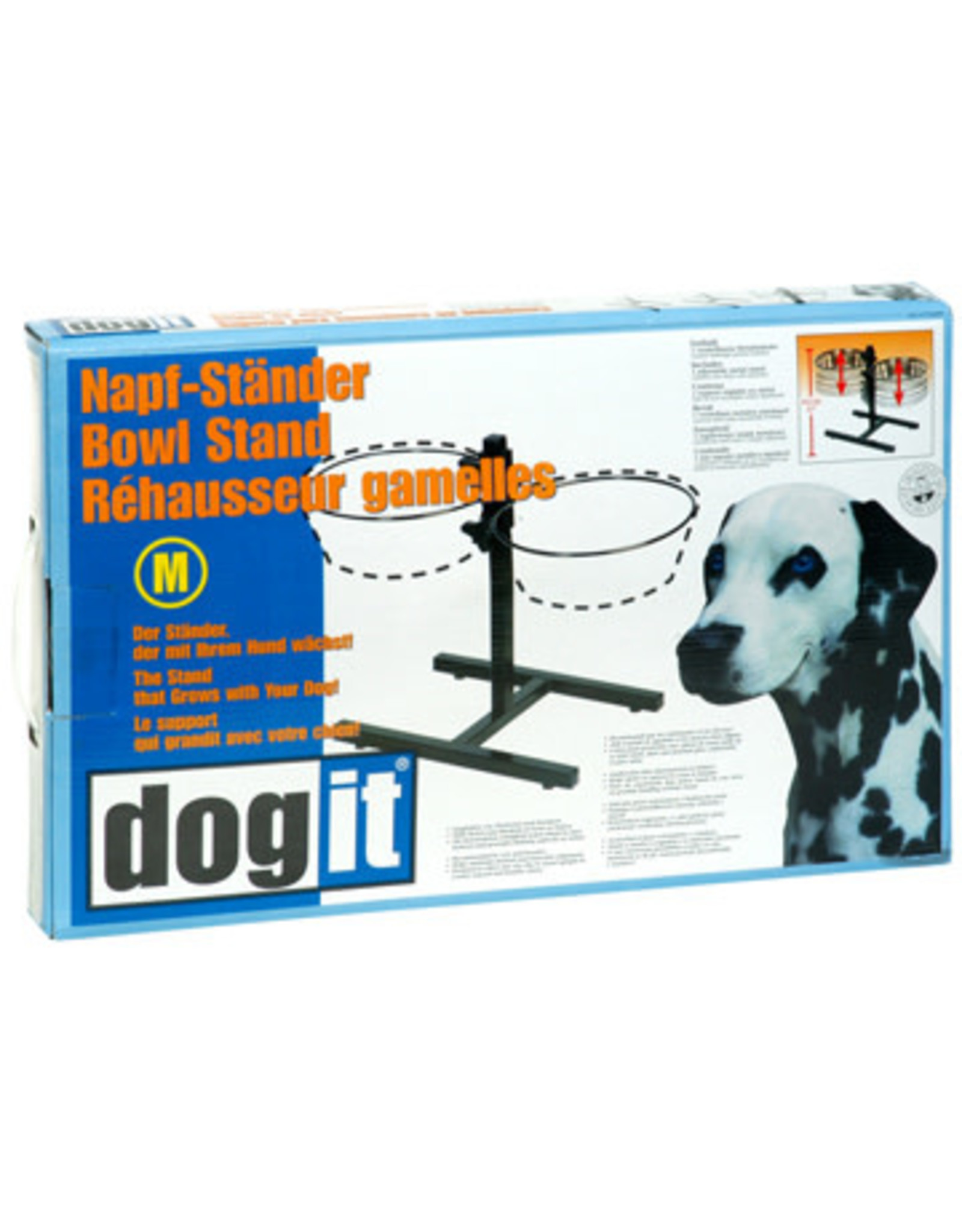 DogIt Adjustable Dog Bowl Stand M