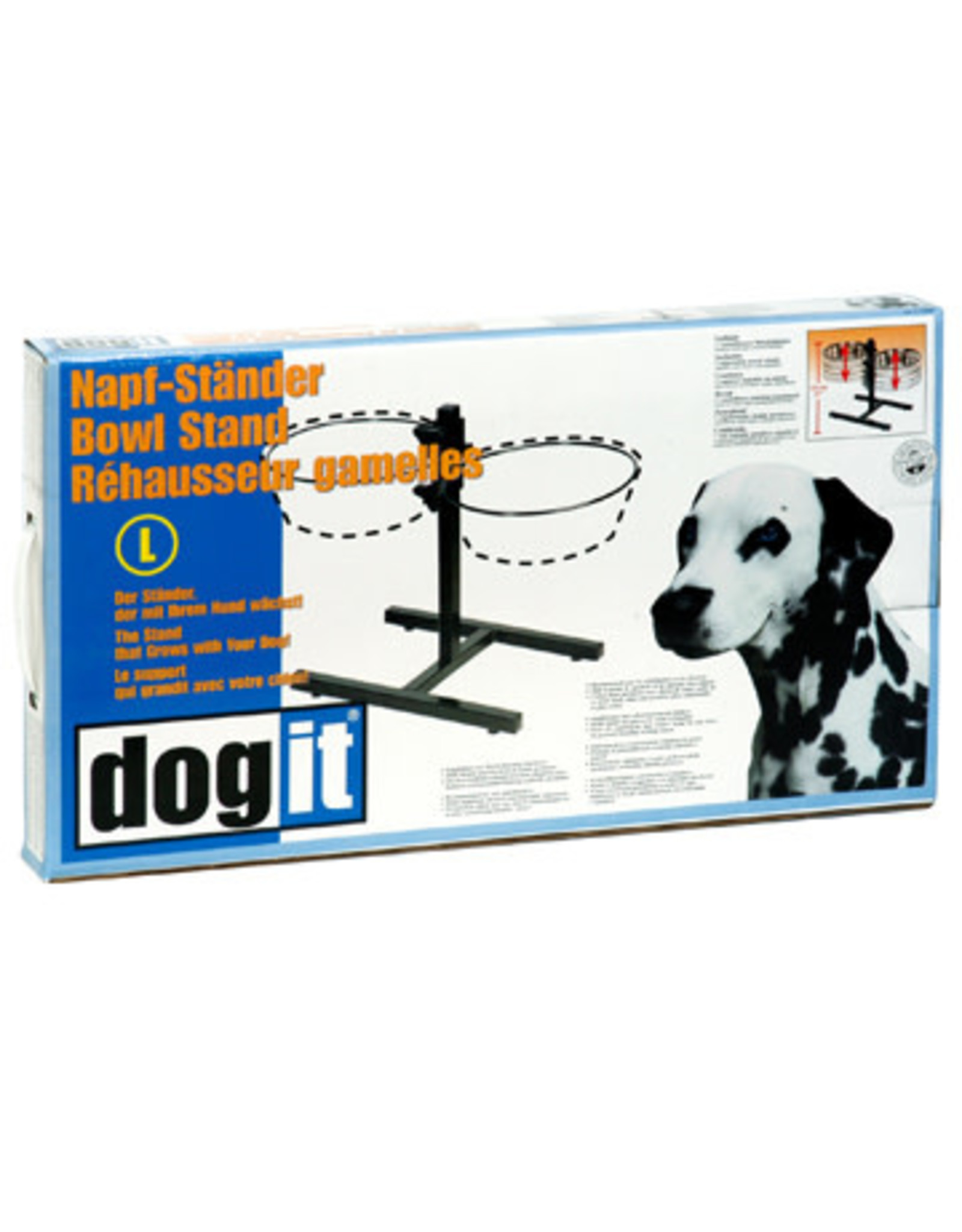 DogIt Adjustable Dog Bowl Stand L