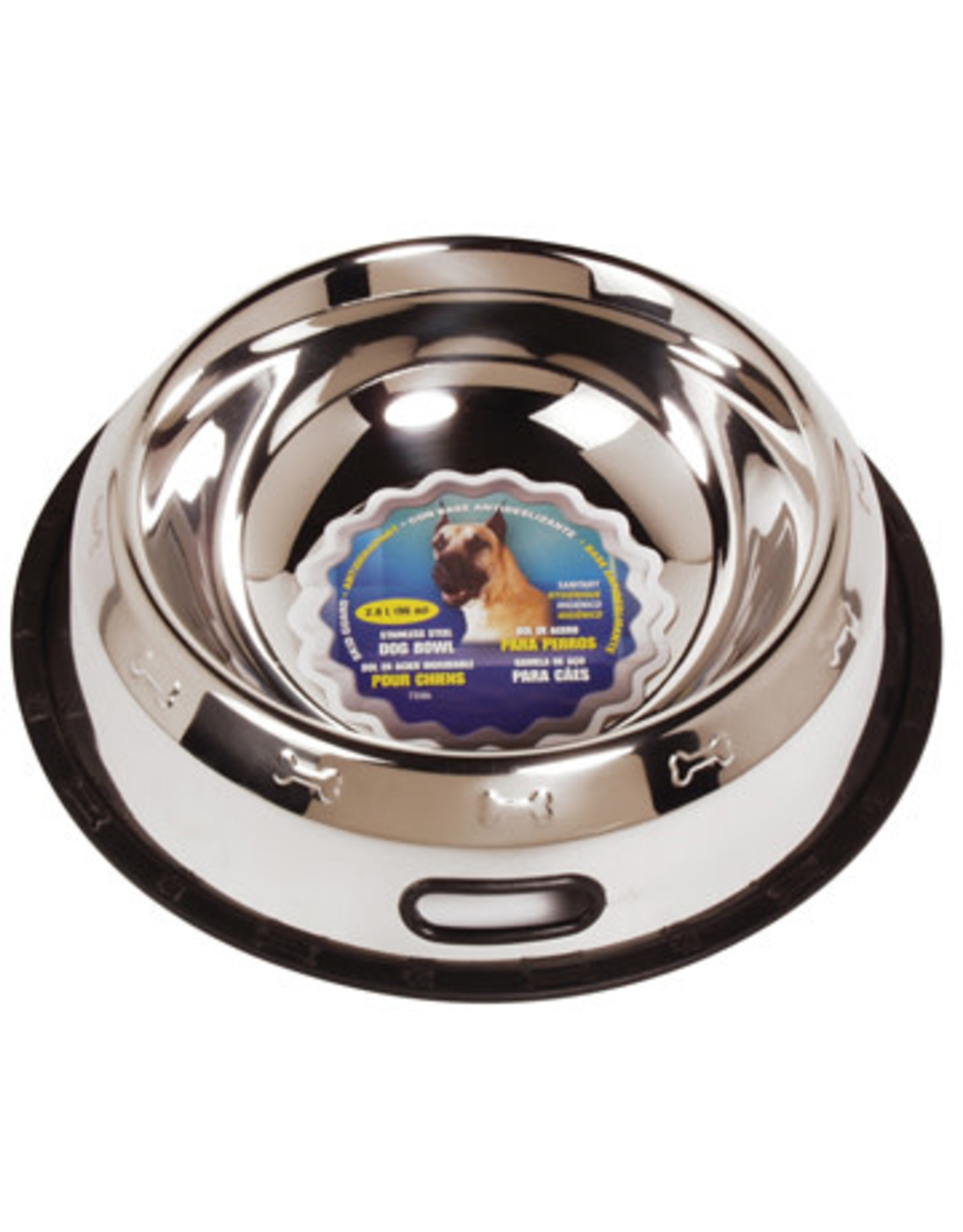 DogIt Stainless Steel Non Spill Dish XXL 2.8L