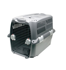 "DogIt Cargo Dog Carrier Gray Large 90cm L x 65cm W x 65cm H (35.5""x26""x26"")"