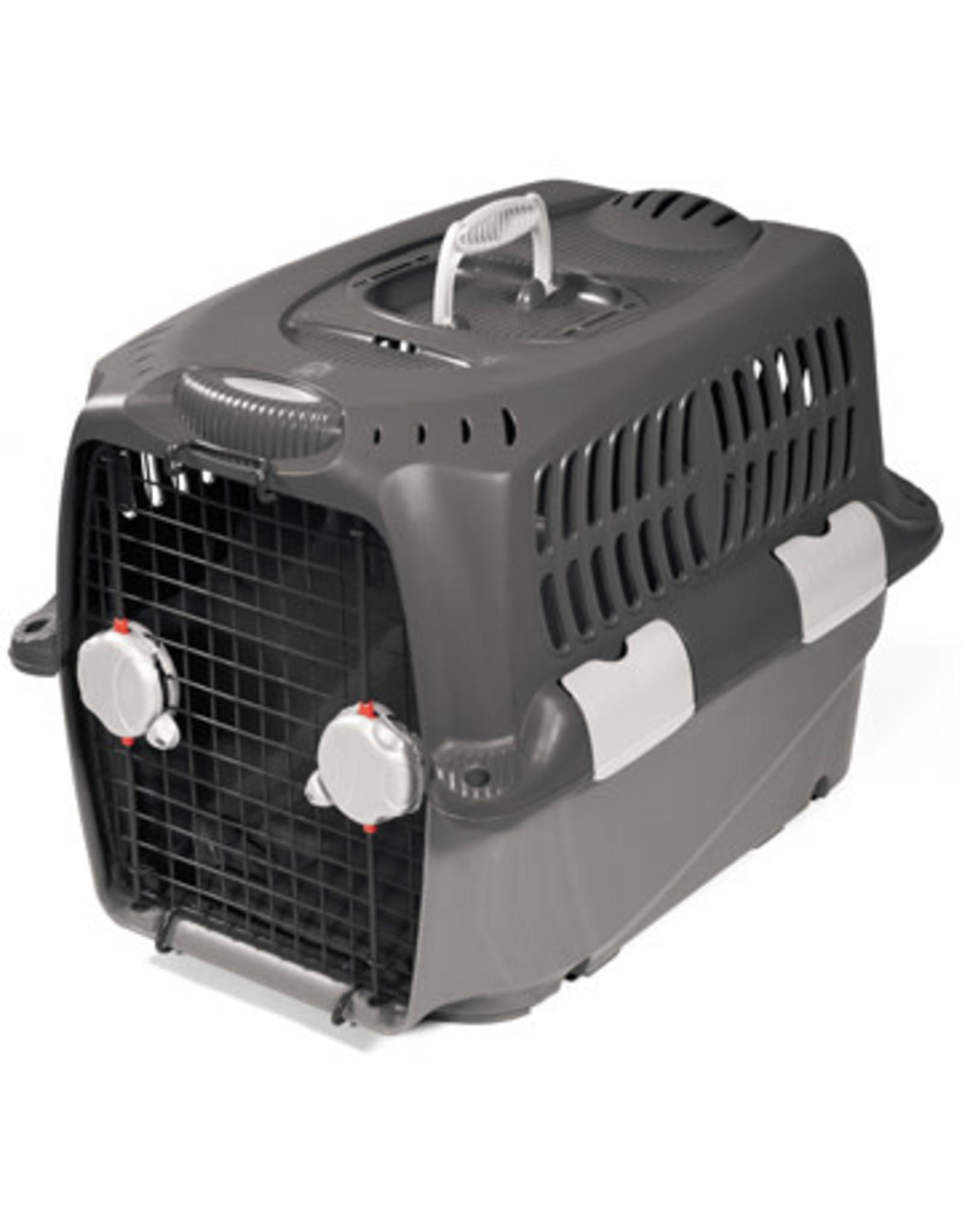 "DogIt Cargo Dog Carrier Gray Small 68cm L x 49cm W x 48cm H ( 27""x19.5""x19"")"