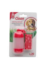 DogIt Bag Dispenser Red 2 Rolls/20 Bags