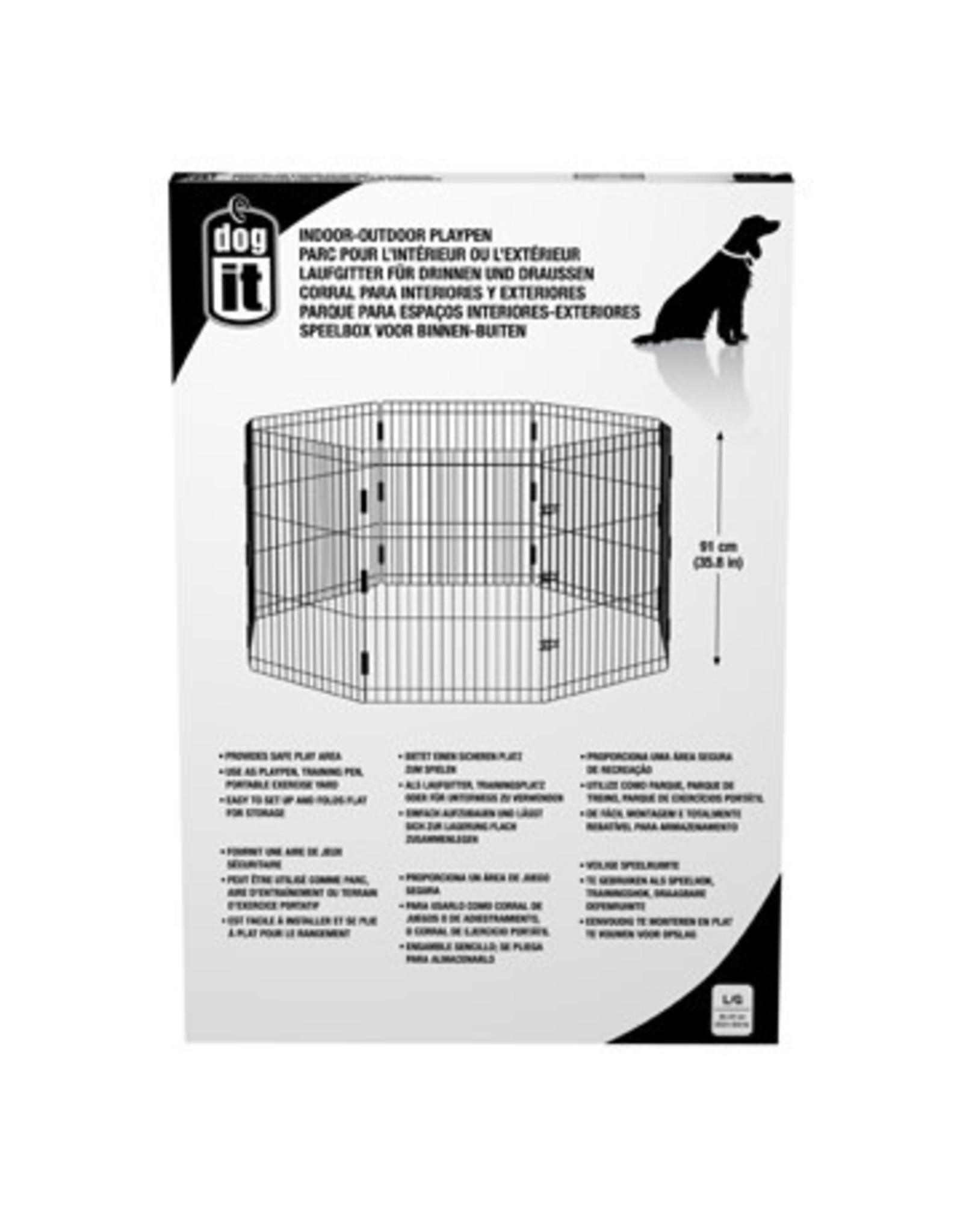 "DogIt Outdoor Playpen Large 60x91cm (23.6x35.8"")"
