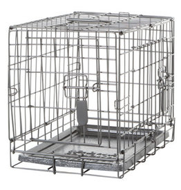 "DogIt Two Door Wire Crates with Divider XSmall 46.5x31x37cm (18.2x12x14.5"")"