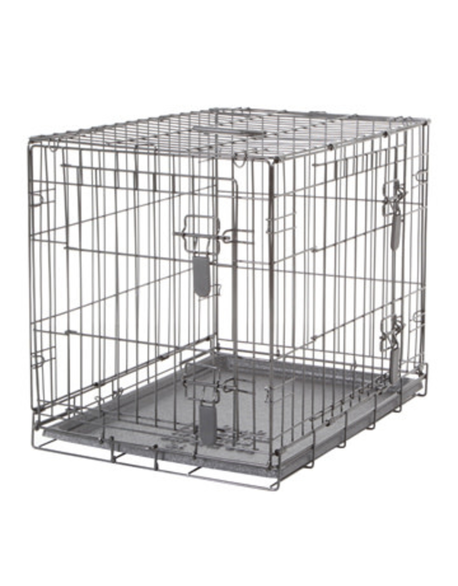 """DogIt Two Door Wire Crates with Divider Small 61x45x51cm (24x17.5x20"""")"""