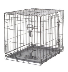 "DogIt Two Door Wire Crates with Divider Small 61x45x51cm (24x17.5x20"")"