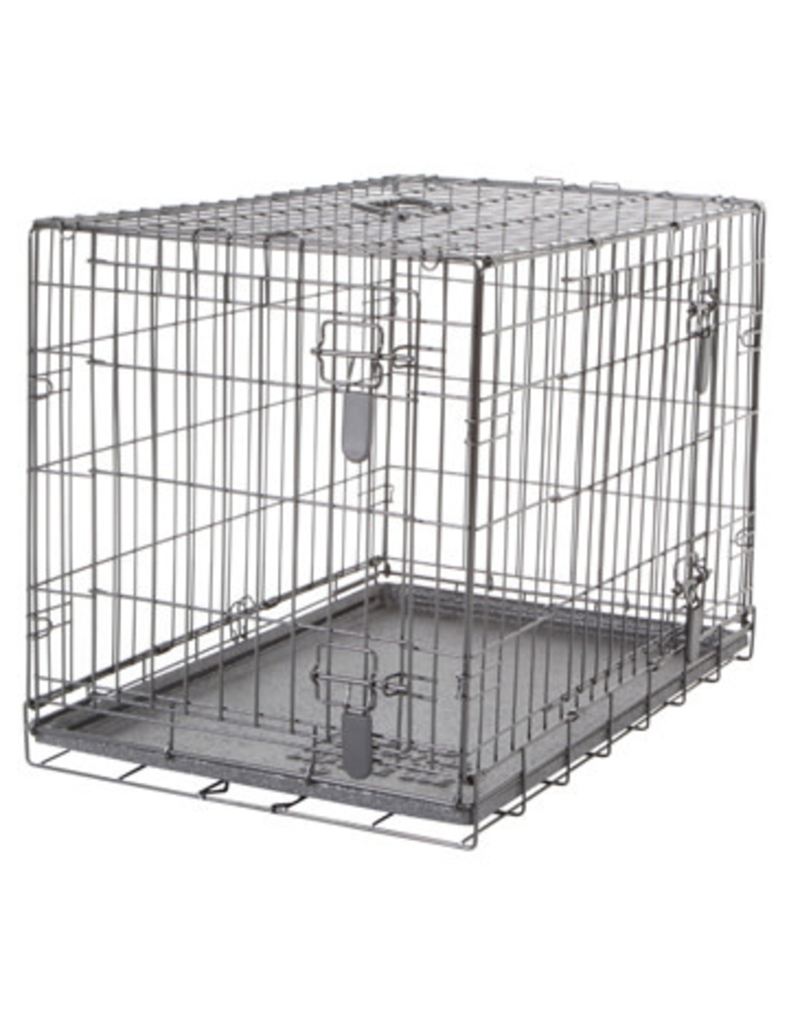 """DogIt Two Door Wire Crates with Divider Medium 77x48x54.5cm (30x19x21.5"""")"""