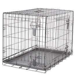"DogIt Two Door Wire Crates with Divider Medium 77x48x54.5cm (30x19x21.5"")"