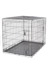"""DogIt Two Door Wire Crates with Divider XLarge 106.5x70x77cm (42x27.5x30"""")"""