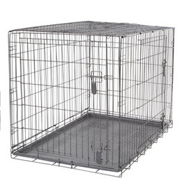 "DogIt Two Door Wire Crates with Divider XLarge 106.5x70x77cm (42x27.5x30"")"