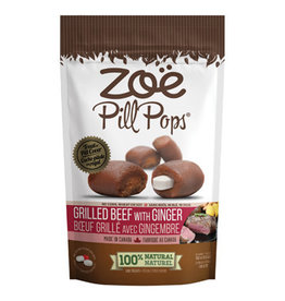 Zoe Zoe Pill Pops - Grilled Beef with Ginger - 100 g (3.5 oz)