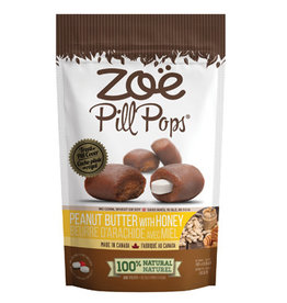 Zoe Zoe Pill Pops - Peanut Butter with Honey - 100 g (3.5 oz)