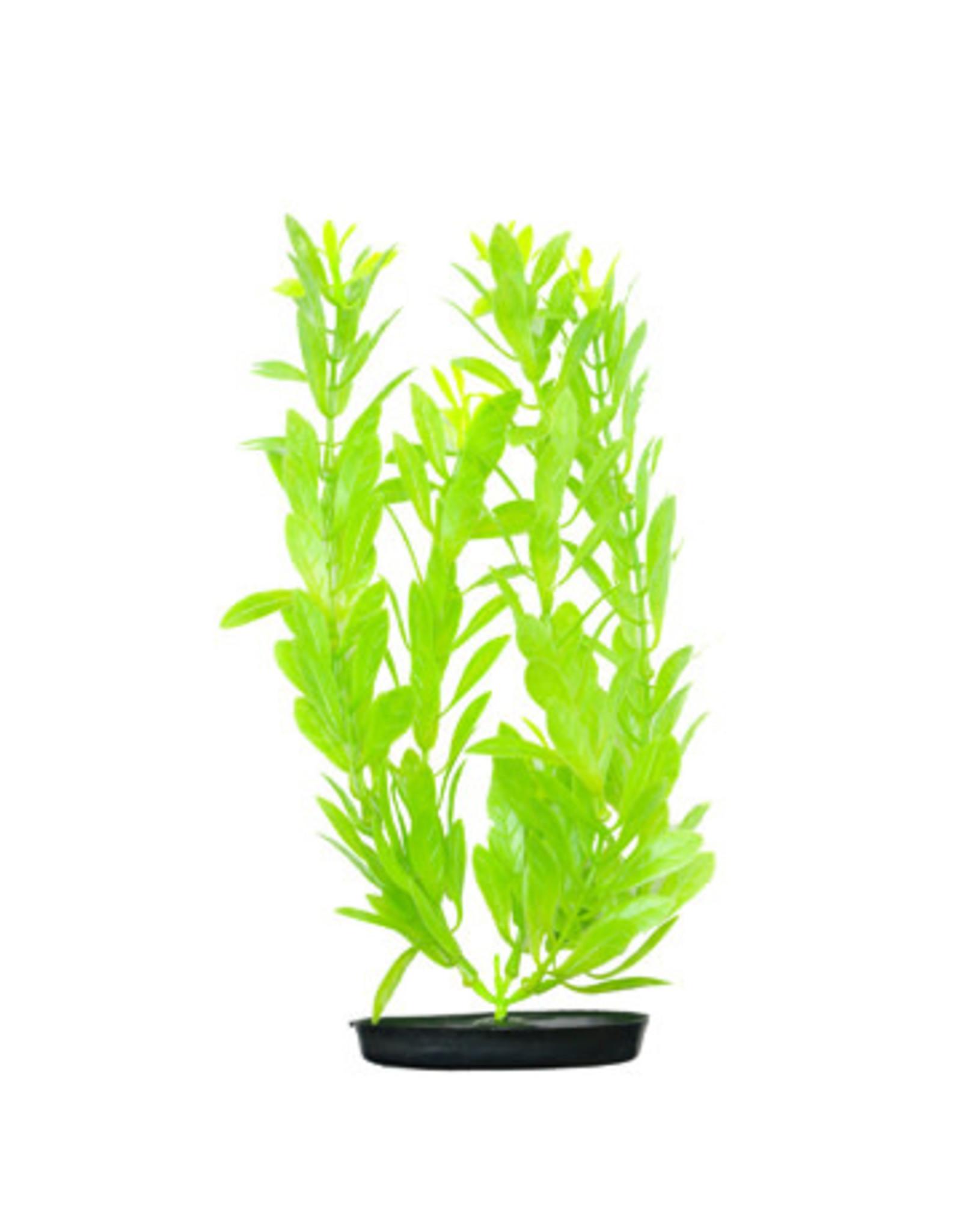 Marina Marina Vibrascaper Plastic Plant, Hygrophilia Green-Dayglo, 30 cm (12 in)