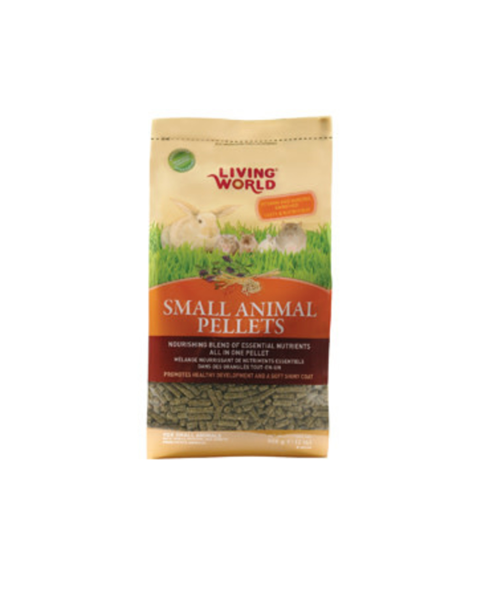Living World Living World Small Animal Pellets - 900 g (2 lbs)