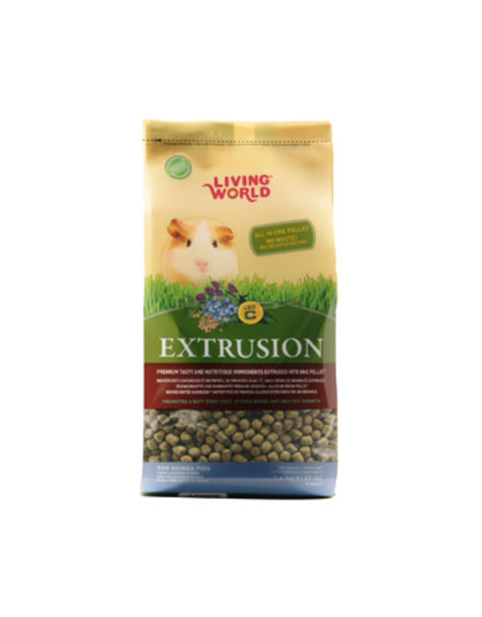 Living World Living World Extrusion Diet for Guinea Pigs - 1.4 kg (3.3 lb)