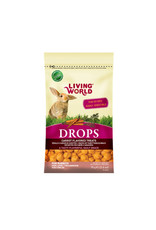 Living World Living World Rabbit Drops - Carrot Flavour - 75 g (2.6 oz)