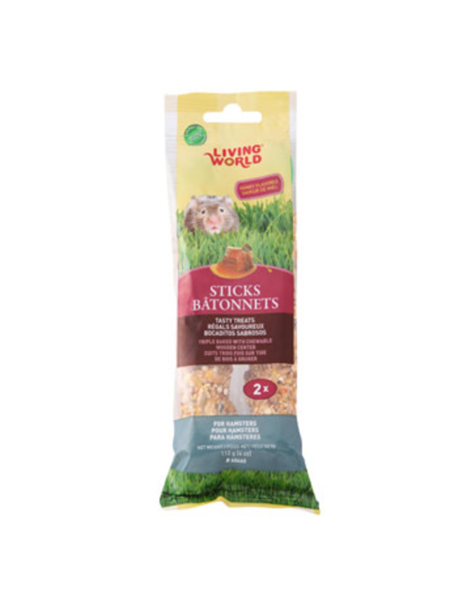 Living World Living World Hamster Sticks - Honey Flavour - 112 g (4 oz) - 2-pack