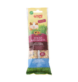 Living World Living World Guinea Pig Sticks - Fruit Flavour - 112 g (4 oz) - 2-pack