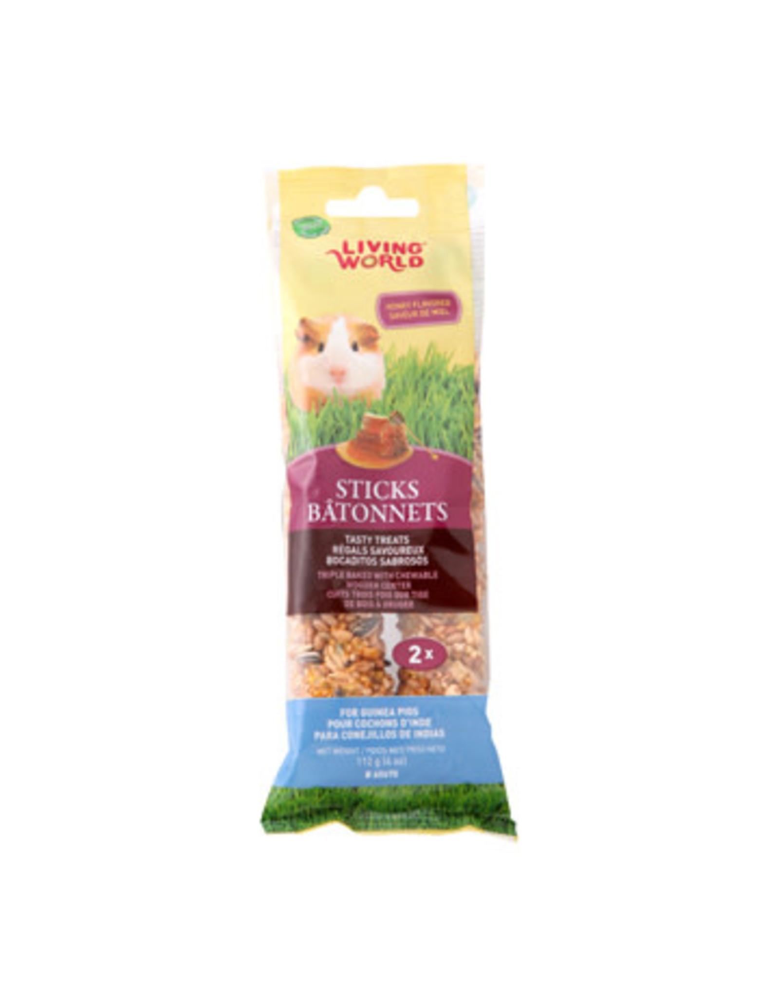 Living World Living World Guinea Pig Sticks - Honey Flavour - 112 g (4 oz) - 2-pack