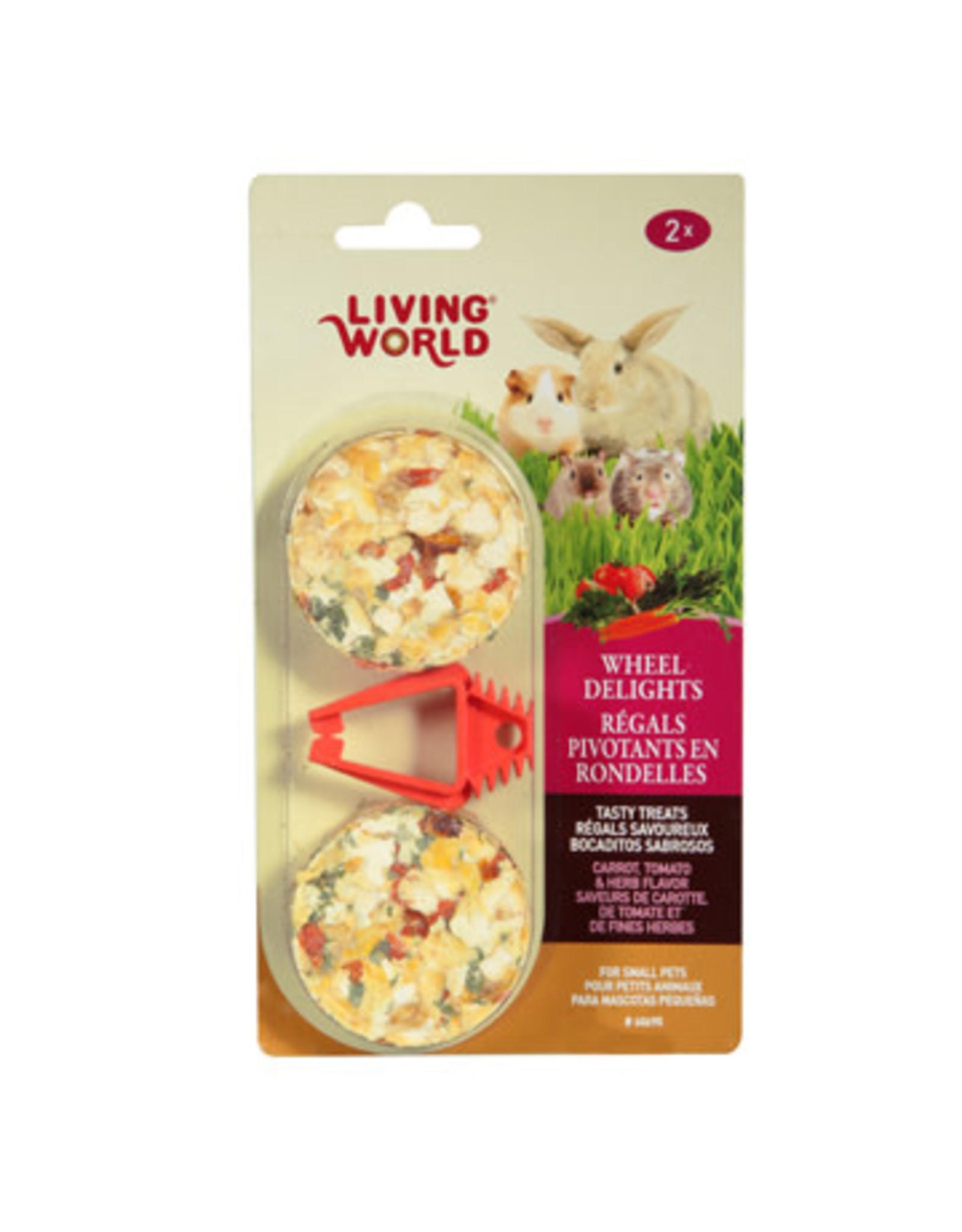 Living World Living World Wheel Delights - Carrot/Tomato/Herb - 2-pack