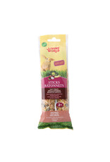 Living World Living World Rabbit Sticks - Fruit Flavour - 112 g (4 oz) - 2-pack
