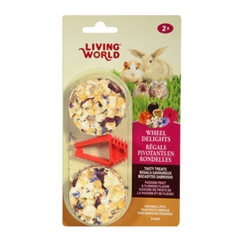 Living World Living World Wheel Delights - Passion Fruits/Flowers - 2-pack