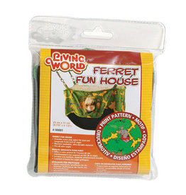 Living World Ferret Fun House - Green - 25 cm (10 in)