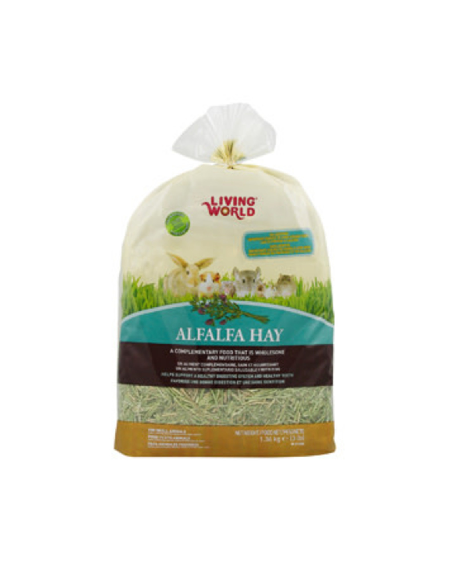 Living World Living World Alfalfa Hay - Extra Large - 1.36 kg (3 lb)