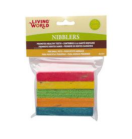 Living World Living World Nibblers Rainbow Wood Chews