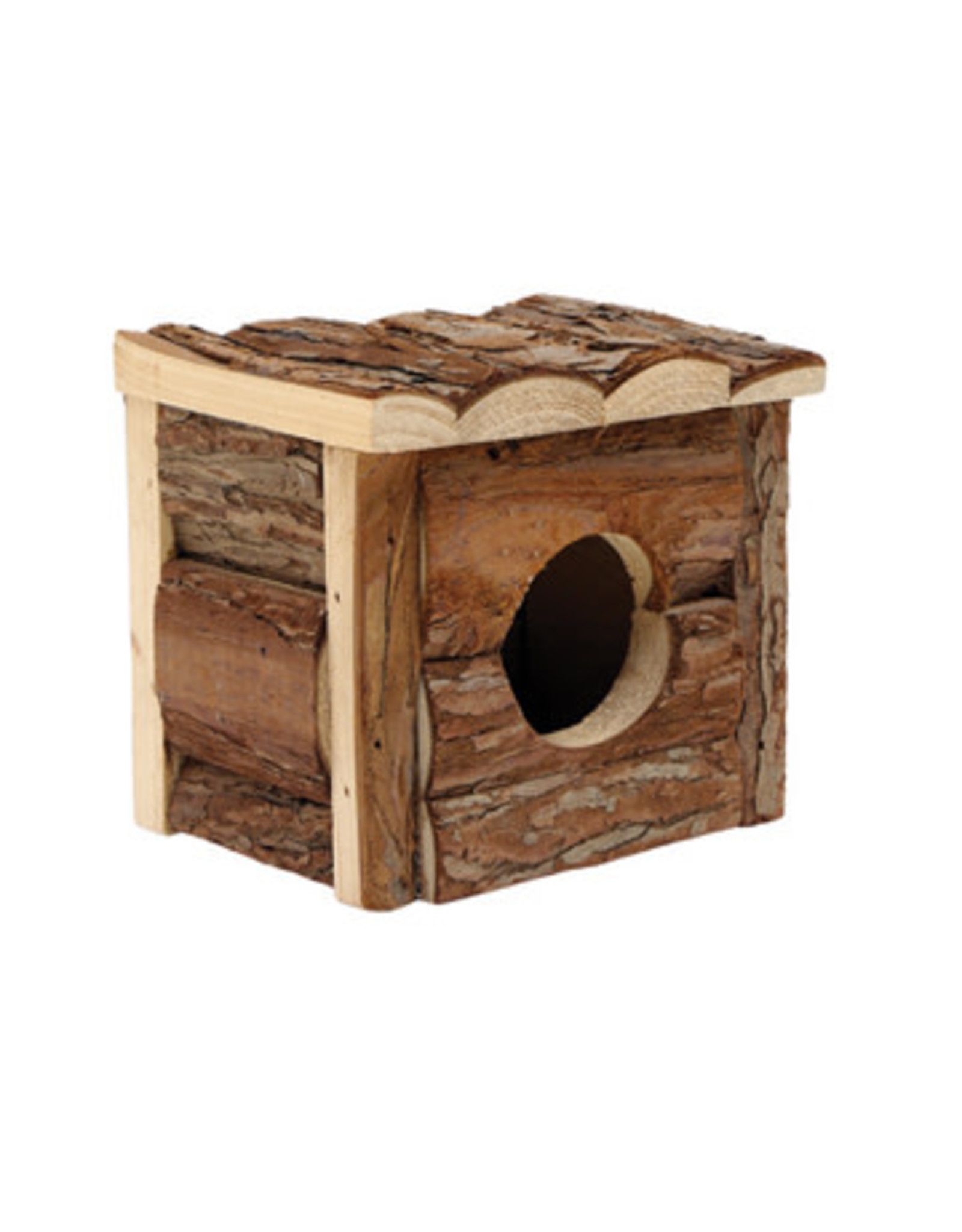 "Living World Tree House Real Wood Cabin - Small - 15.5 cm (6"") L x 15.5 cm (6"") W x 15 cm (5.75"") H"